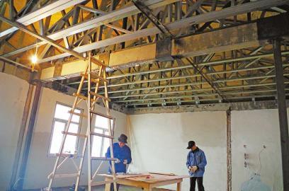 工业化预制过程中采用空间钢结构设计,达到少用钢的效果.