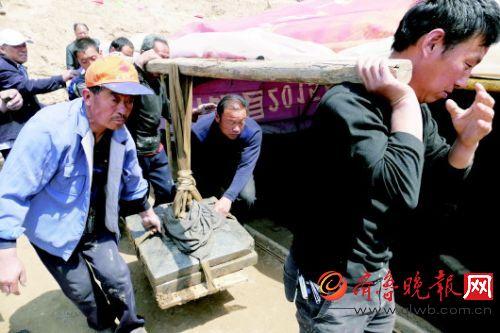 济阳县垛石镇发现唐代古墓