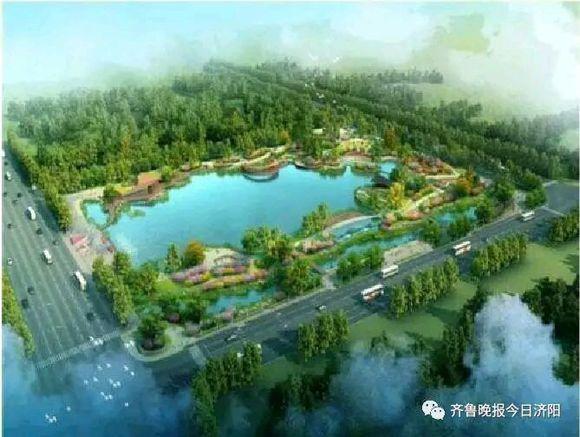 济阳6月份已开建安澜湖公园,快来看看
