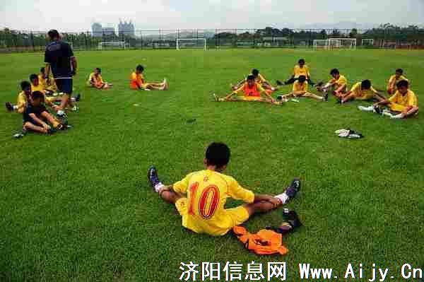 济阳将在县城西侧建一流足球学校