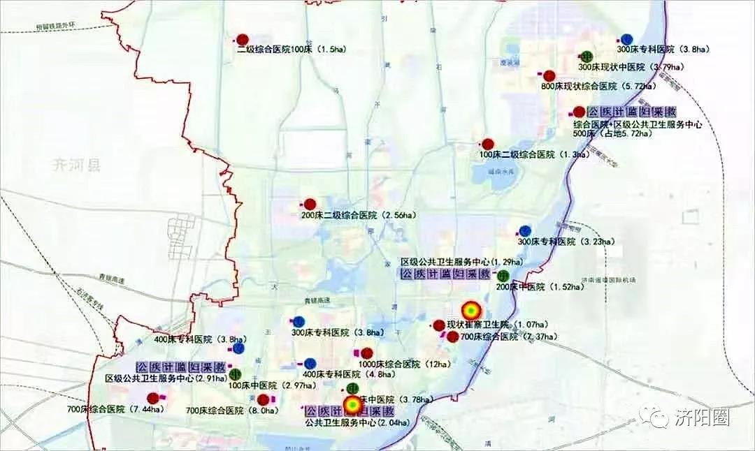 先行区将建19所医院!规划的具体位置曝光